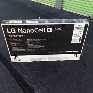 """*49"""" In. LG Nanocell 4K Smart Tv W/Remote* for Sale in Stockbridge, GA"""