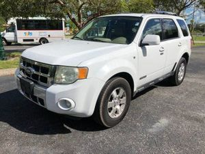 Excellent excellent condition best deal ever 2009 Ford Escape 4dr V6 Automatic Limited leather clean title good miles for Sale in Pembroke Pines, FL