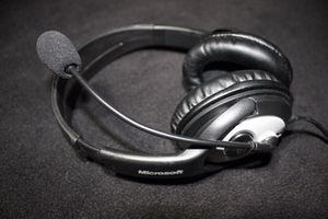 Microsoft LifeChat LX-3000 Headset with Microphone for Sale in Ames, IA