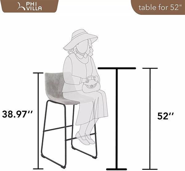 Counter Height Bar Stools (Set of 2)