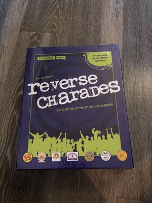 Reverse Charades Board Game for Sale in Austin, TX
