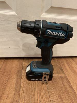 Makita drill and battery. Excellent working condition. Like new. $60 firm on price for Sale in Bellevue, WA