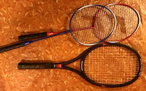 Badminton And Tennis Rackets $20 Or Best Offer for Sale in Moreno Valley, CA