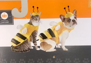 Bumblebee Pet Costume Outfit Dog Cat Size Small Halloween for Sale in Lawndale, CA