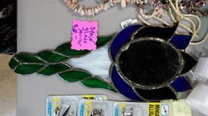 $8 Stained Glass Mirror Tulip for Sale in Eugene, OR