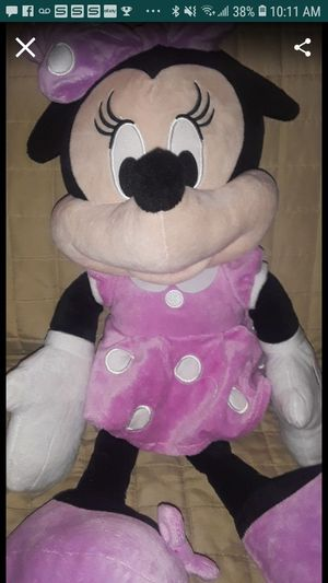 Big minnie mouse plush for Sale in Santa Ana, CA