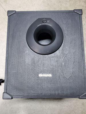 Aiwa TS-W45U Powered Active Subwoofer Speaker for Sale in Riverside, CA