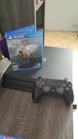 PS4 pro with God of War for Sale in Los Angeles, CA