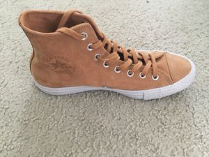 CONVERSE Men All Star High Nubuck, Brown (SIZE 8) for Sale in San Diego, CA