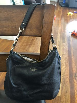 Kate Spade Black Leather Tote Purse for Sale in Pasadena, CA