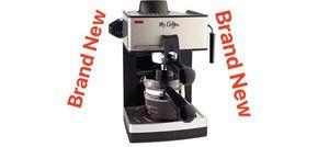 Espresso Coffee Maker Cappuccino Cafetera Electrica Mr Coffee ECM160 for Sale in Miami, FL