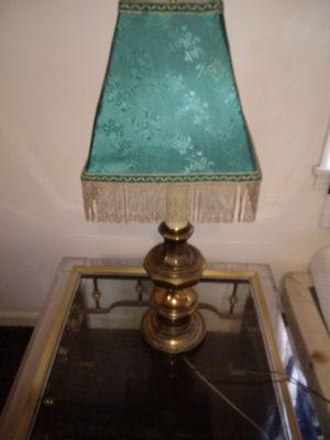 Brass lamp 60 yrs old for Sale in Hendersonville, TN