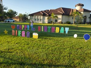 Letras para cumpleanos for Sale in Palmview, TX