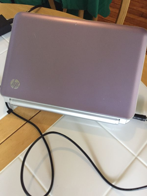 HP mini laptop works great