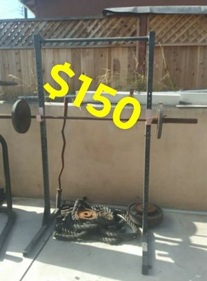 Weights, bench and training rope for Sale in San Diego, CA