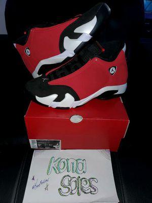 Jordan 14 Toro gym/red size 9.5 $310 for Sale in Livonia, MI