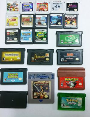 Nintendo, 3DS, DS, GBA , Pokemon, Video Games for Sale in Union Park, FL