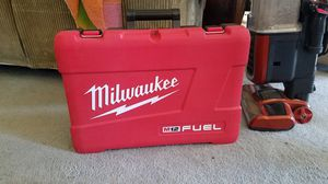 Milwaukee hammer drill CASE only for Sale in Los Osos, CA