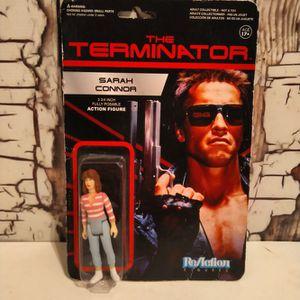 Sarah Connor Funko ReAction Super7 Terminator Retro Action Figure for Sale in Aurora, CO