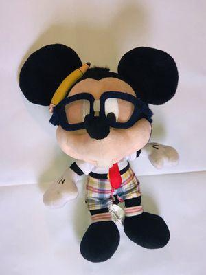 VTG Disney Parks Mickey Mouse school nerd. Plush 8 in for Sale in Reisterstown, MD