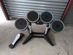 Video game drum set Harmonix rock band for Sale in New Bedford, MA