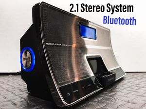 2.1 Stereo System with Bluetooth for Sale in Silver Spring, MD