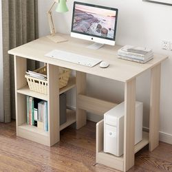 Computer Desk with Cabinet and Shelves for Sale in Walnut,  CA