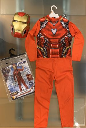 Age 4-6 Size Small Iron Man Avengers Costume for Sale in Queens, NY