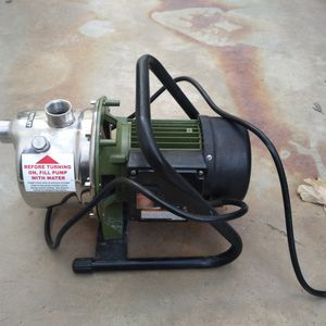 Drummond 1 Hp Sprinkler Pump for Sale in Morongo Valley, CA