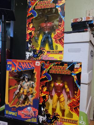 Marvel ToyBiz 90's New In Box Collectible Action Figures for Sale in Black Diamond, WA