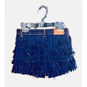 Denim Fringe Shorts for Sale in Columbus, OH