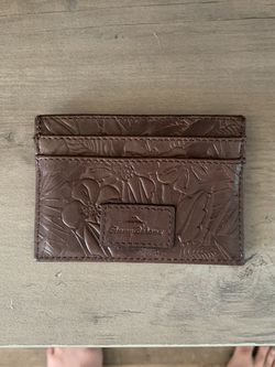 Brown Palm Tree Tommy Bahama No Fold Wallet for Sale in Flushing,  MI