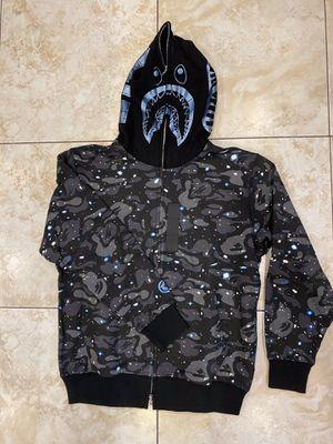 Black space camo bape hoodie XL for Sale in Los Angeles, CA
