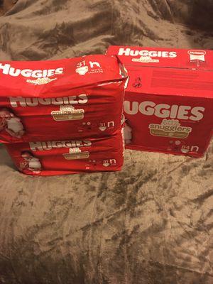 Huggies brand diapers, newborn **unopened** for Sale in Hillsboro, OR