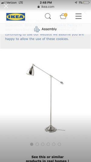 IKEA Barometer Nickel Floor Lamp Light for Sale in Denver, CO