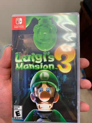 Luigis mansion 3 Nintendo switch for Sale in Charlotte, NC