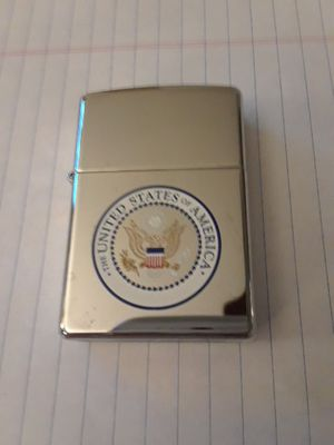Zippo United States Presidential Logo Lighter for Sale in Frederick, MD