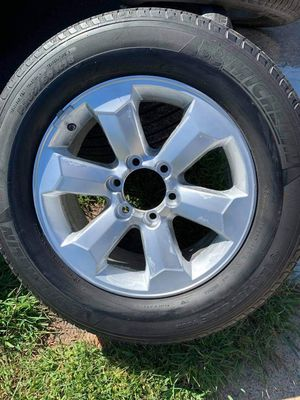 Wheels and tires for Toyota Tacoma or 4Runner for Sale in Fairfax, VA