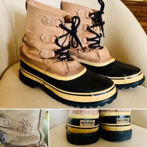 SOREL Caribou Work Boots Size Men's 9 for Sale in Portland, OR