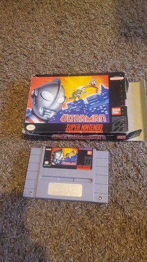 Ultraman super Nintendo $10 for Sale in Bakersfield, CA
