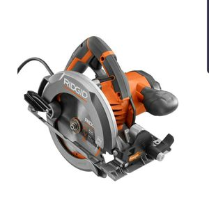 RIDGID 12 Amp Corded 6-1/2 in. Magnesium Compact Framing Circular Saw for Sale in Tucson, AZ