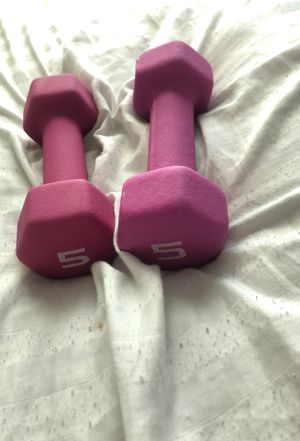 5lb weights for Sale in Riverdale, GA