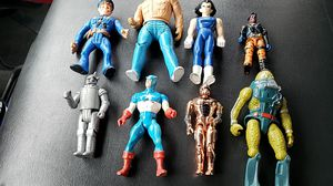 Vintage 1980's action figures, G.i. joe,a-team,tin man,captain America for Sale in Pataskala, OH