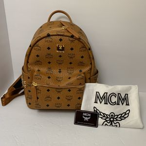 MCM medium backpack with studs for Sale in Carson, CA