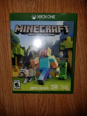 MINECRAFT XBOX ONE EDITION for Sale in Hayward, CA