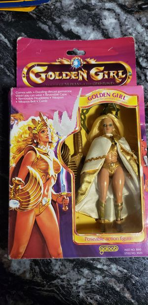 Vintage 1984 GALOOB Golden Girl Figurine in box for Sale in Lorain, OH