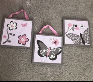 Butterfly/Flower Paintings for Sale in Miami, FL