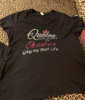 Rhinestone bling Birthday T shirt for Sale in Lockhart, FL