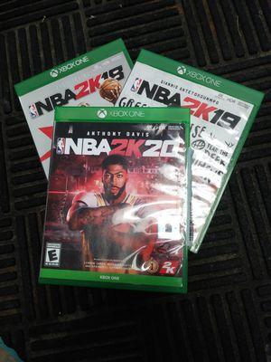 Xbox One NBA 2k Bundle for Sale in Sebring, FL