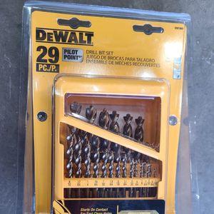 Dewalt Pilot Point Drill Bit Set for Sale in Marysville, WA